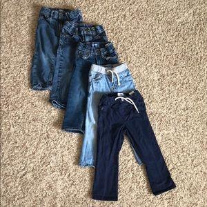Boys Jeans & Pants (Bundle of 5)